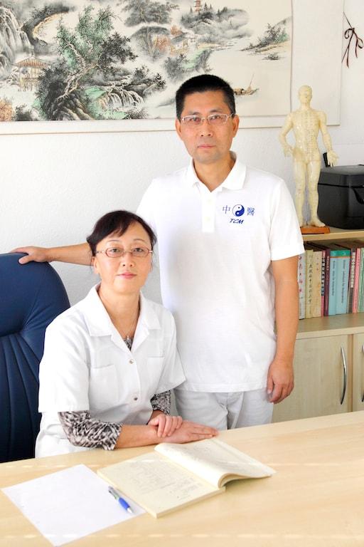 Yufen Chen und Li Xu